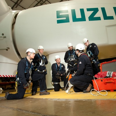 Suzlon's U.S. Wind Hub Takes Home AWEA Safety Award
