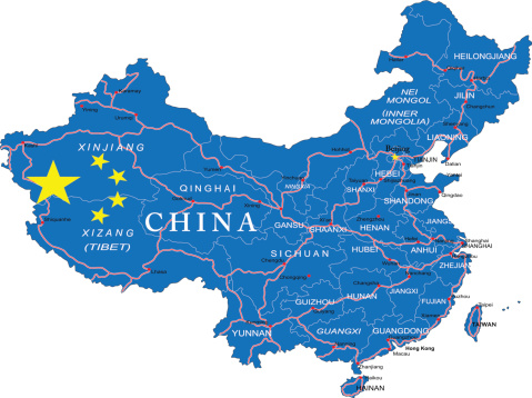 14072_mapofchina Vestas Announces Trio Of Chinese Wind Orders