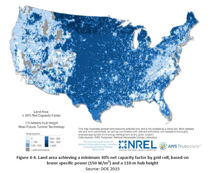 14242_nrel DOE: Bigger Turbines Could Unlock Wind Energy Potential In All 50 States