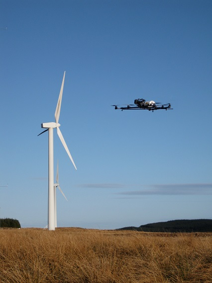 Cyberhawk Launches Drone Service For Onshore And Offshore Turbine Inspections