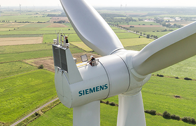Siemens Sees Year-Over-Year Wind Profits Rise