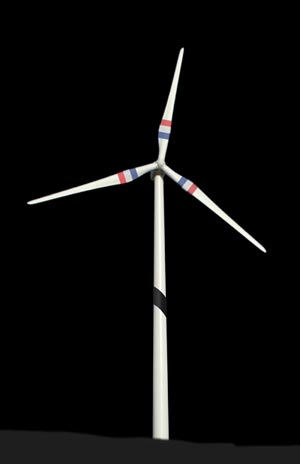 Quebec's Wind Industry Shows Support After Paris Attacks