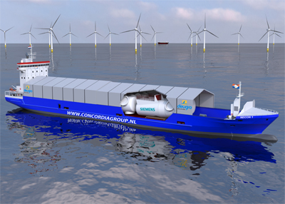 Ro/Ro Your Boat: Siemens' Partnership To Cut Offshore Shipment Costs