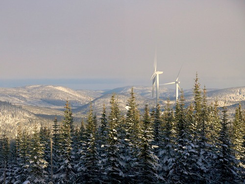 EDF Completes 350 MW Riviere-du-Moulin Wind Farm