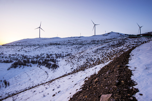 Senvion Research Partnership Tackles Turbine Icing Issues