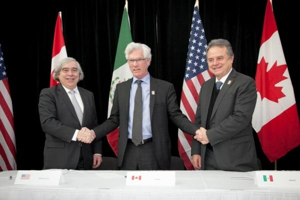 MOU North American Energy Leaders Sign MOU