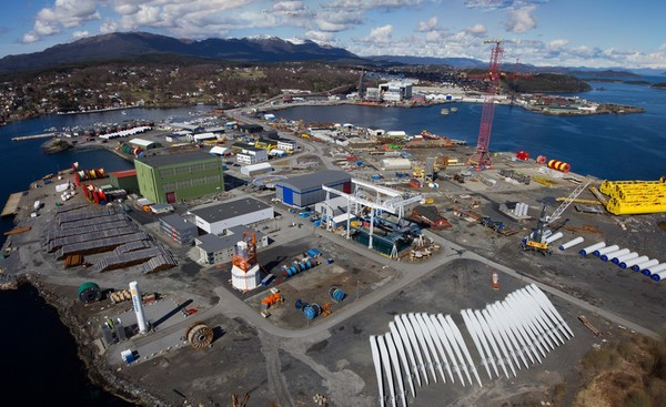 stord-base NorSea Group Providing Stord Base For Hywind Floating Wind Farm