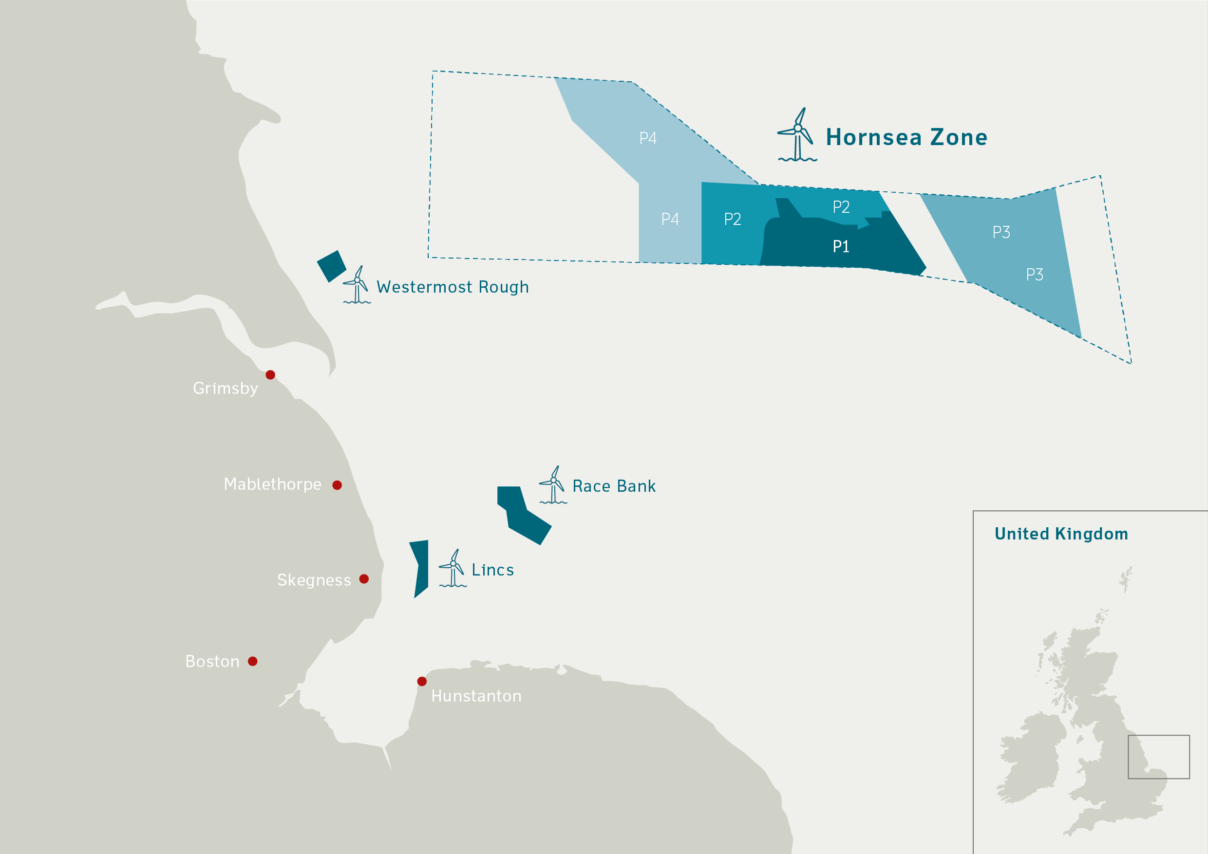 hornsea DONG Energy To Reconfigure Hornsea Offshore Wind Development Zones