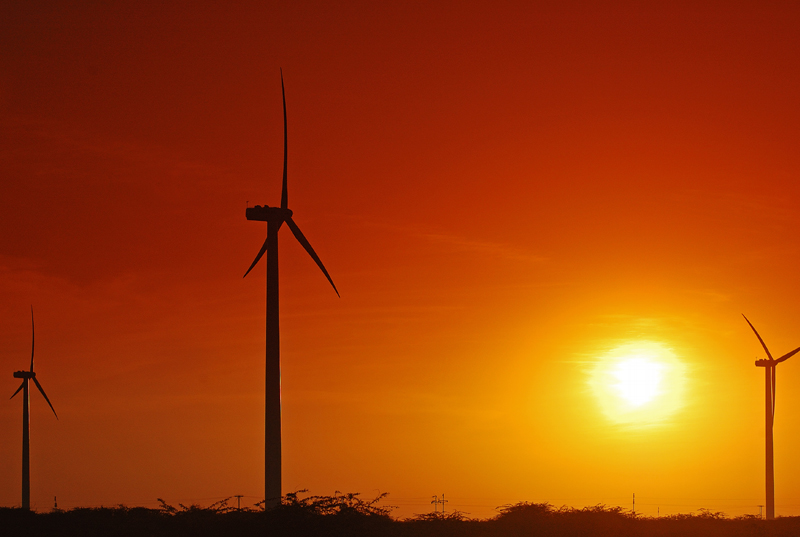 suzlon-windfarm Suzlon Wins 82 MW Of Turnkey Orders From India