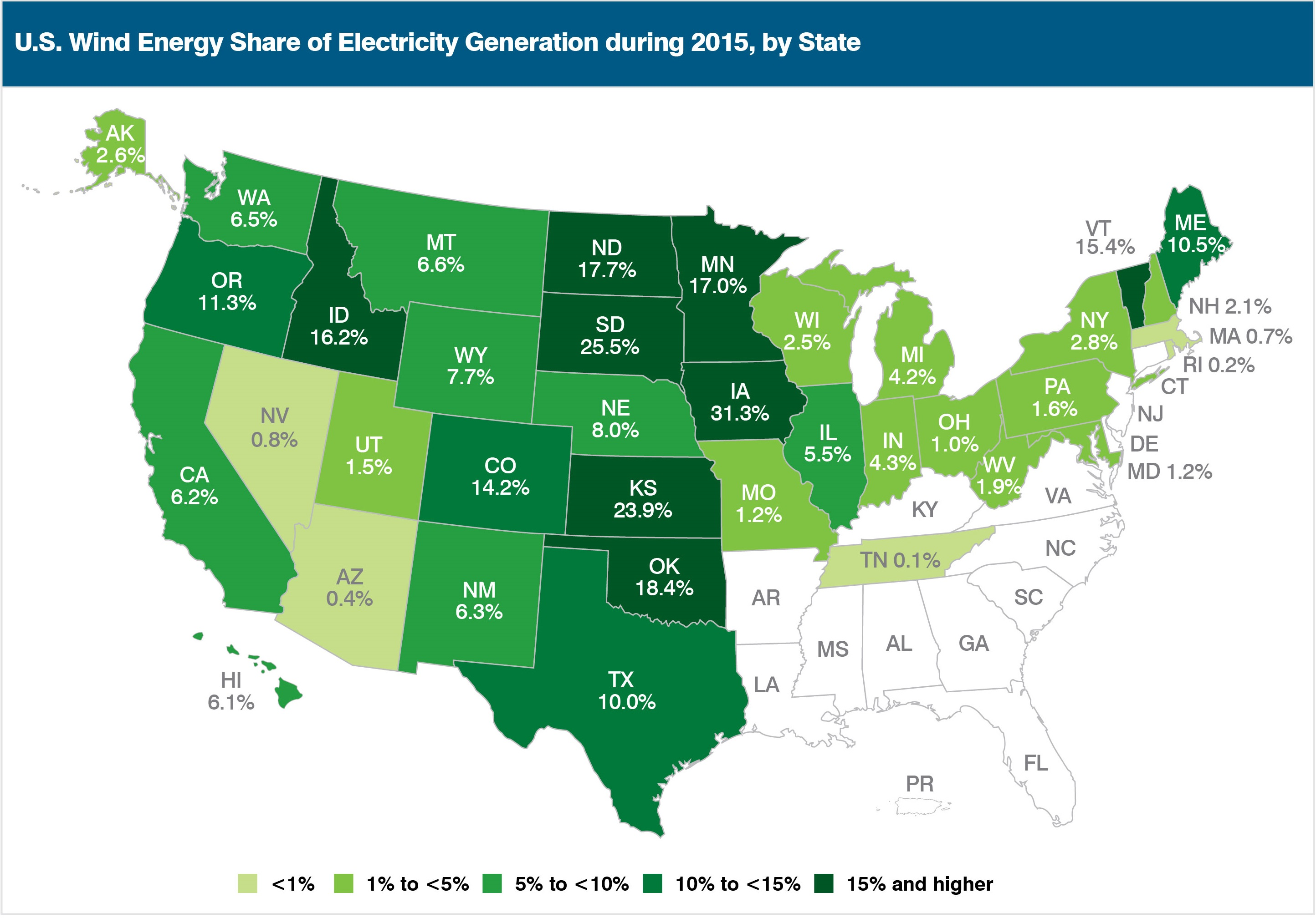 50_state_map_generation AWEA's 2015 U.S. Wind Market Report Highlights Wind Market Trends