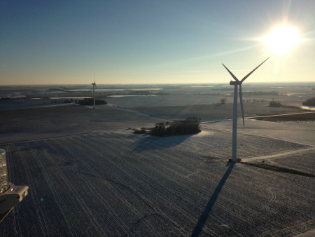 Grant-County-Wind-Farm-LR Minnesota Wind Farm Gets Fitted With TurbinePhD Condition Monitoring