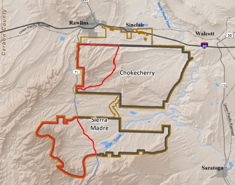 Map-CCSM Public Comment Sought On Environmental Impact Of Wyoming Wind Project