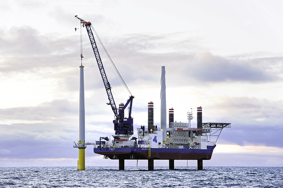 A2SEA_SEA-INSTALLER_ A2SEA Signs On For Vattenfall's Horns Rev 3 Wind Farm