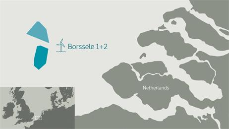 Map_borssele-UK_com DONG Energy Wins Tender For Offshore Wind Pair Totaling 700 MW