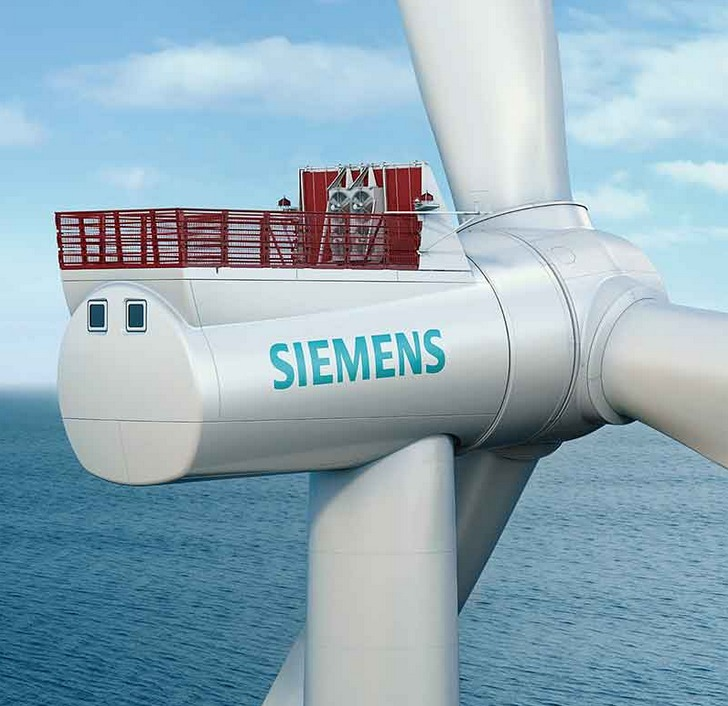 siemens-stock Siemens Announces New Offshore Turbine With 10% Higher AEP