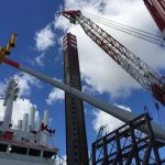 MPI Offshore Installs First Turbine For Sandbank