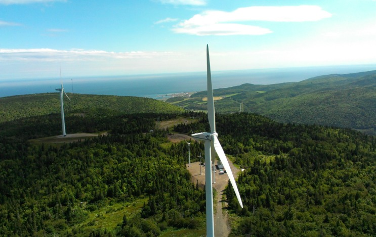 mountain-turbines TechnoCentre eolien Wins Federal Funds For Wind Development