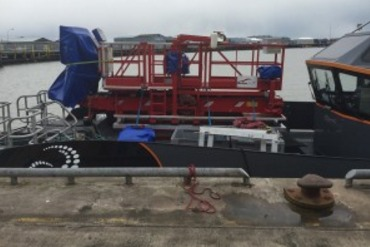 port CWind, Rotos 360 Deliver Blade Repair Services Out Of Grimsby Port