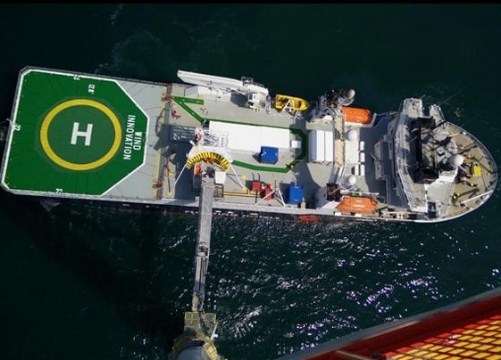 vessel-2 C-bed Vessel Slated For 400 MW Offshore Wind Farm Construction