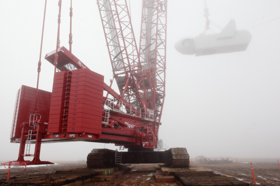 crane Manitowoc Crane Boosts Assembly Efficiency For Texas Wind Project
