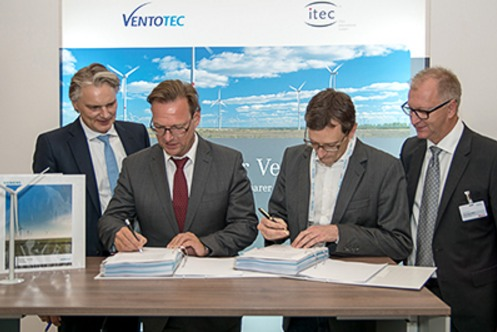 signing Ventotec Signs Agreement To Supply 200 Siemens Wind Turbines