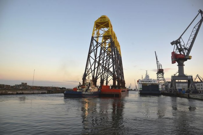 Bladt Bladt Finishes Foundation Work At Wikinger Offshore Wind Farm
