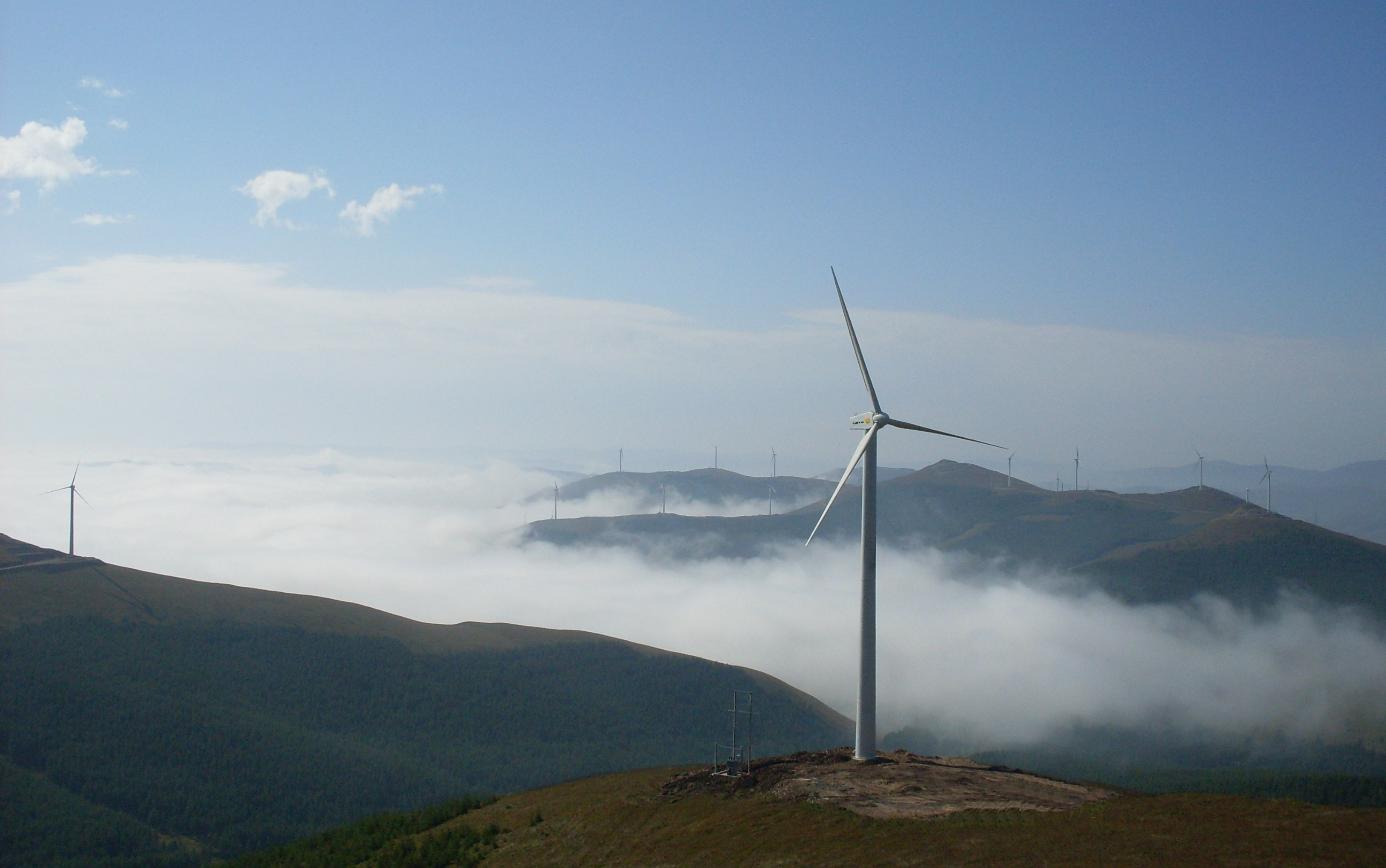 Gamesa-wind-farm-in-China Gamesa Inks First Order For New G132-5.0 MW Model