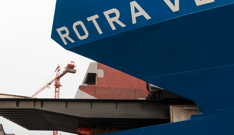 rotra New Cargo Vessel To Transport Wind Turbine Parts For Siemens