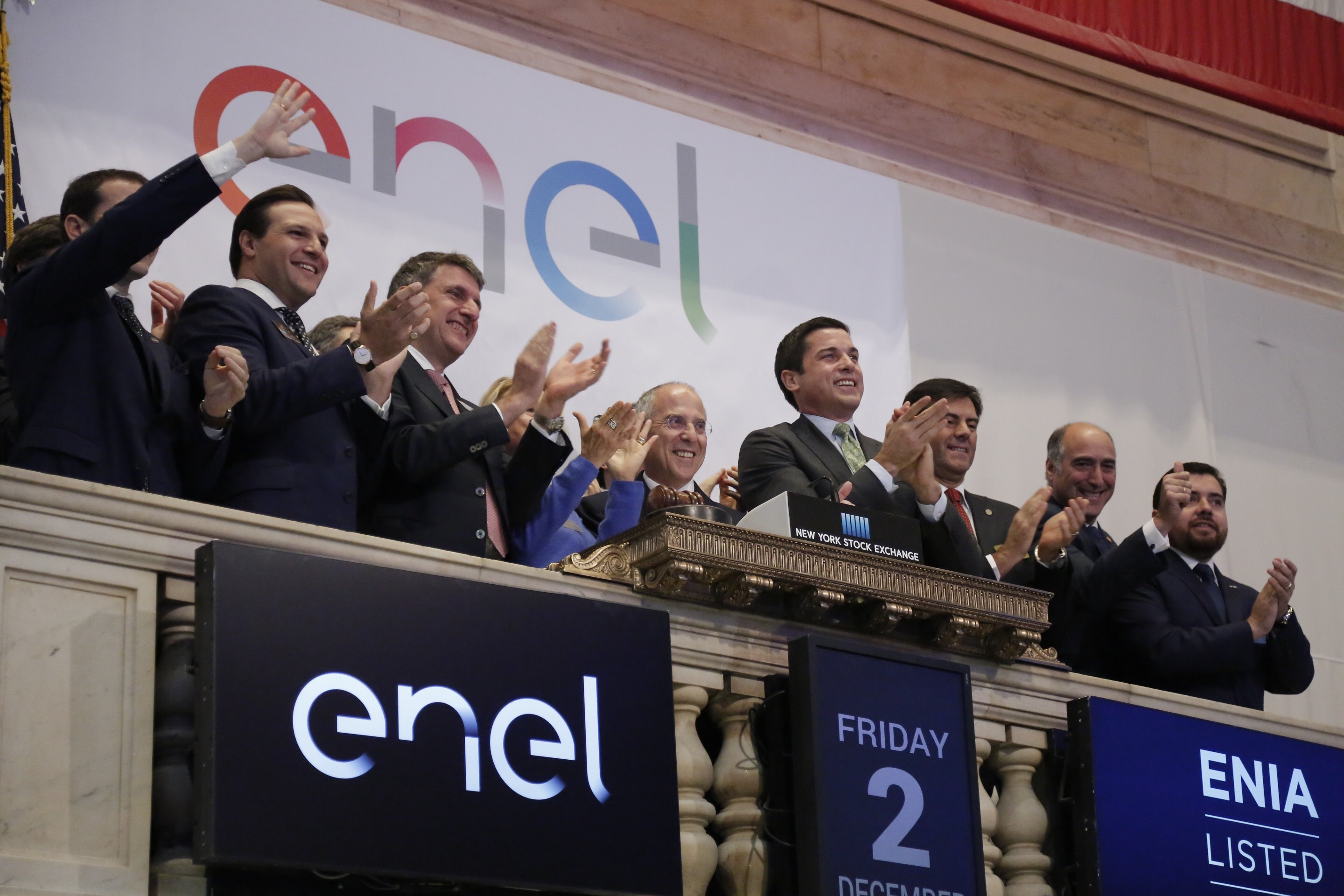 Enel-Americas-NYSE-Opening-Bell3 Enel Americas' Arrival On NYSE Marks End Of Corporate Restructuring