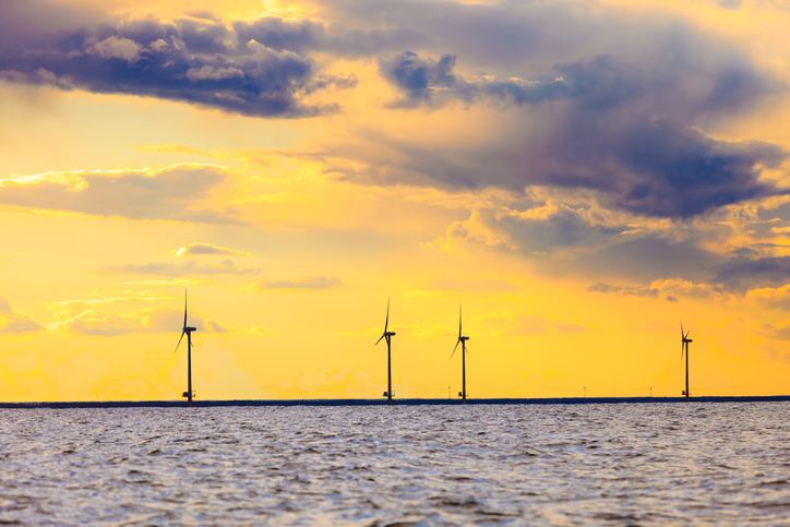 The U.S. has an offshore wind farm