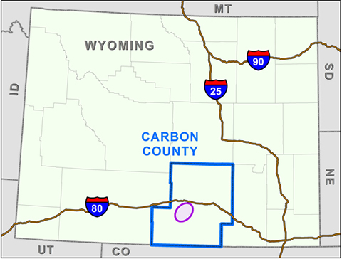 map-wyo-480-v2 Final Environmental Analysis Completed For Wyoming Wind Giant