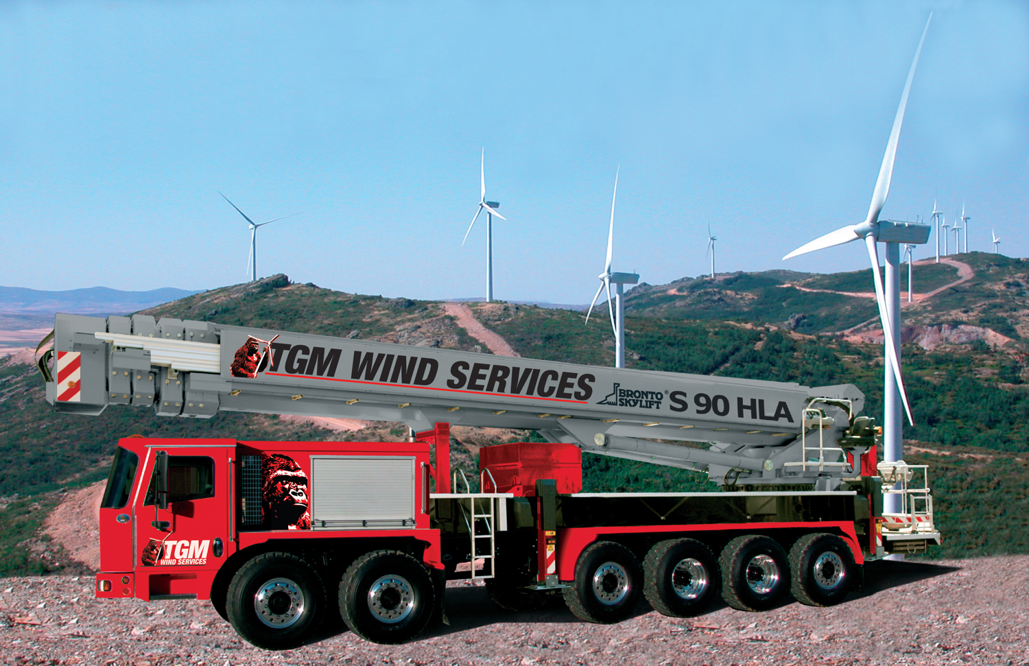 TGMs-Bronto-S-90HLA-sm Wind Services Provider Expands Partnership With Aerial Work Platform Company