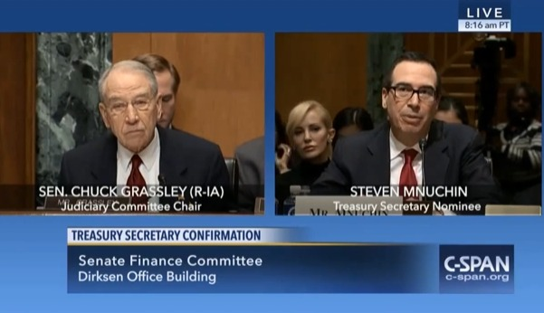 grassley Grassley Pleads With Treasury Secretary For Smooth Wind PTC Phase-Out