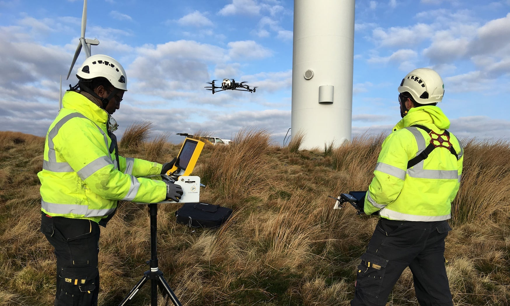 Cyberhawk-Innovations- Drone Inspections Company Marks Notable Success In Wind