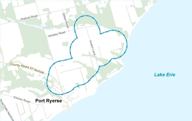 Map-Port-Ryerse1 Boralex Closes Financing For Ontario Wind Project