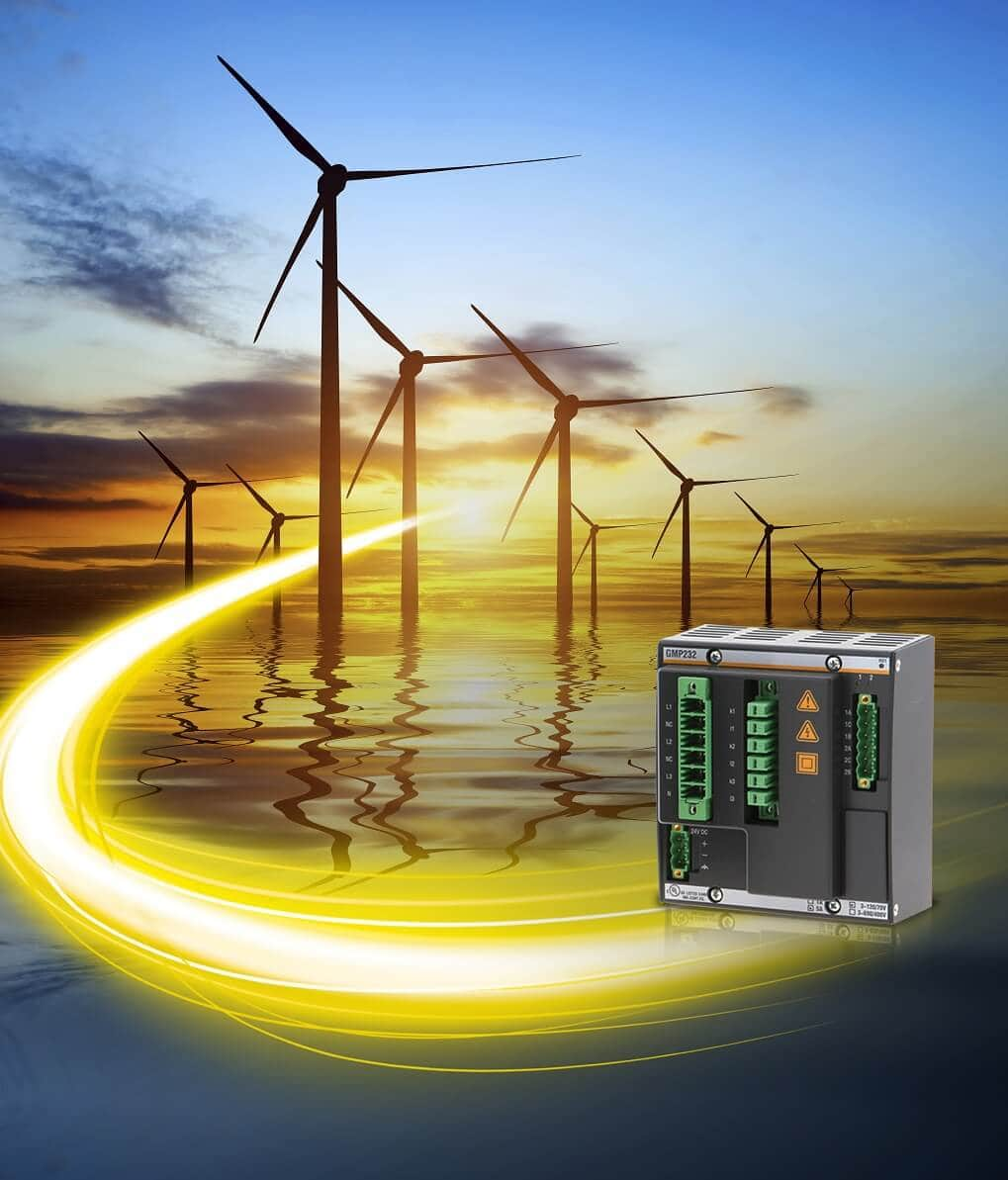 GMP-Wind-1 Bachmann Introduces Grid Measurement, Monitoring Module For Wind Plants