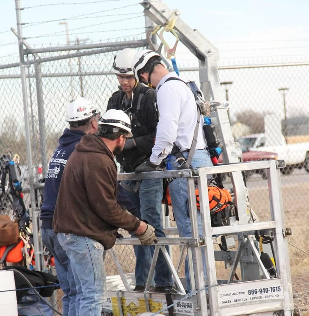Granite-Training-56 Wind Technician Training Grows At New Mexico College