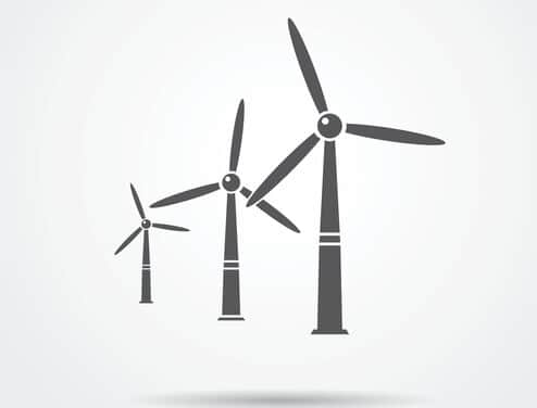 wind-turbines-illustration Wind PPA Brings Iron Mountain's Data Centers To 100% Renewables