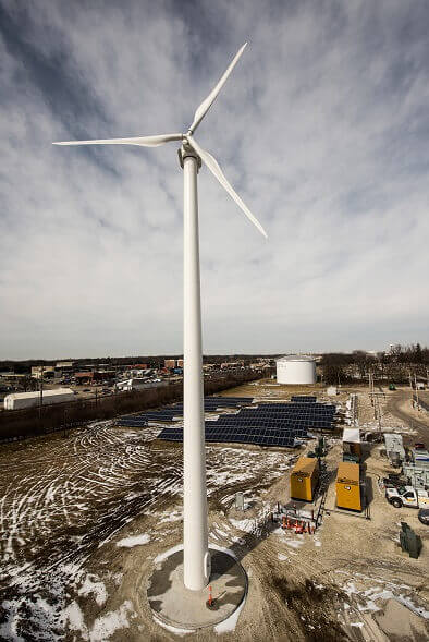 Ameren-1 Illinois Microgrid Project Houses Wind, Solar And Natural Gas