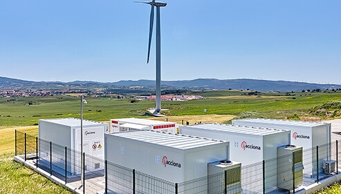 acciona-plant Acciona Commences Operations On Wind/Battery Storage Plant
