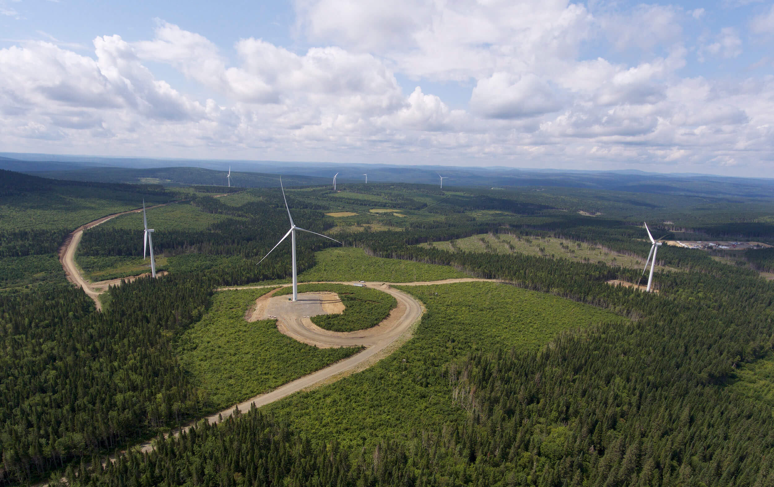 Roncevaux Ribbon Cut On GE-Powered Invenergy Wind Farm In Quebec