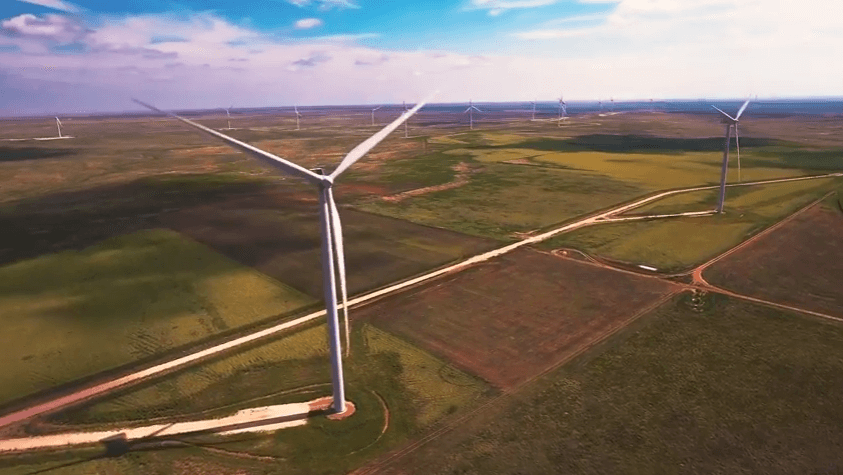 turbines-at-Goodwell Wind To The Rescue: Underfunded Oklahoma Schools Benefit From Project Revenue