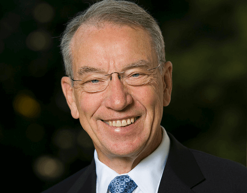 grassley NAW Exclusive: Sen. Grassley Talks Trump, Perry And Wind Tax Credits