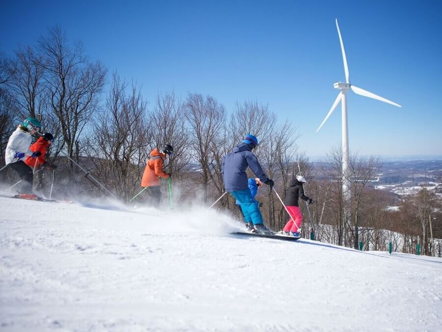 ski-resort Massachusetts Ski Resort Celebrates A Decade Of Wind Energy