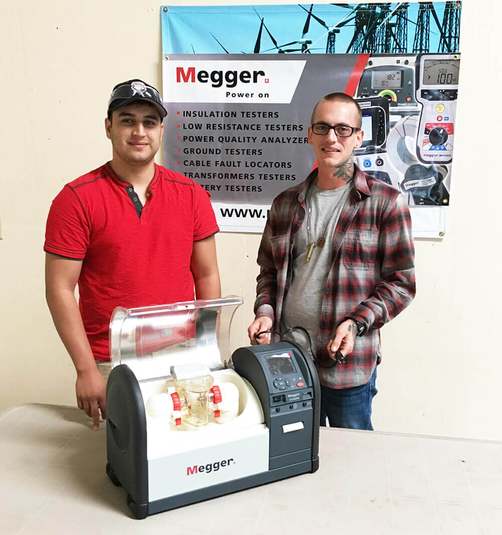 megger Wind Tech Students At N.M. College Get Another Boost From Megger