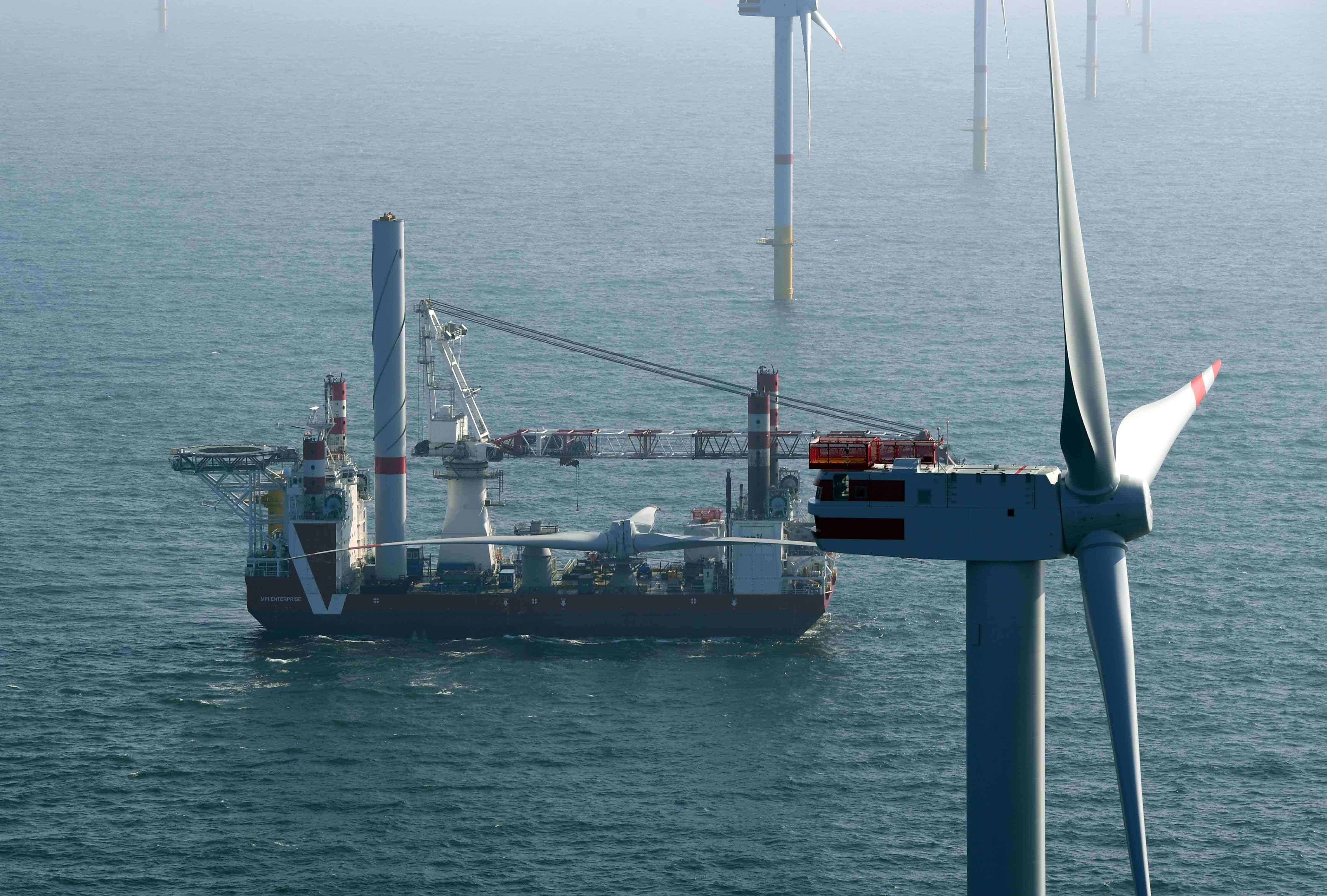 nordsee-one All Turbines In Place At 332 MW Nordsee One