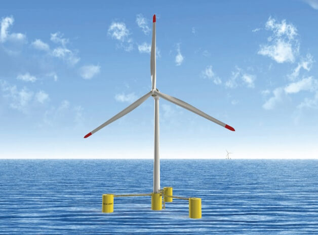 umaine UMaine's Floating Offshore Wind Turbine Passes ABS Review