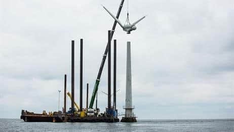 vindeby How DONG Energy Dismantled The World's First Offshore Wind Farm