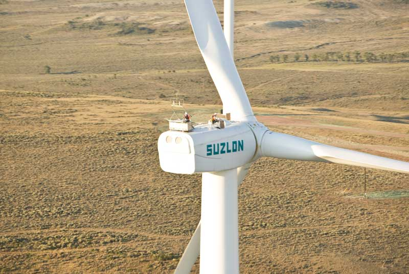 Suzlon Installs Nearly 1 GW Of Wind In India In FY16