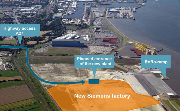 Siemens Building Nacelle Plant For Offshore Turbines In Germany